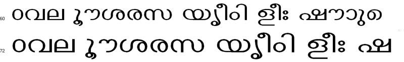 ECTthinkal Malayalam Font