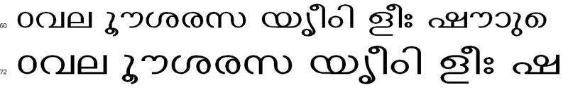 ECWThinkal Malayalam Font