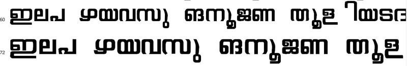 Gayathri Regular Malayalam Font
