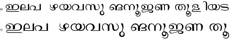Janaranjani Regular Bangla Font