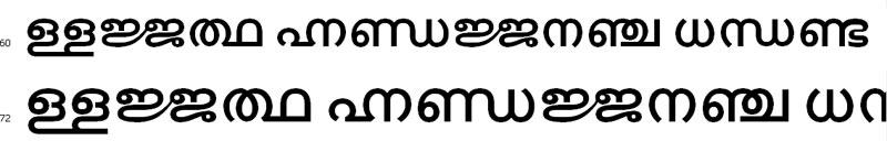 Kalakaumudi Malayalam Font