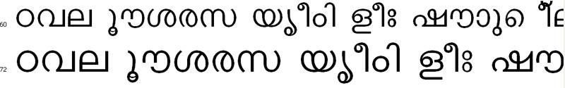 Keralax Malayalam Bangla Font