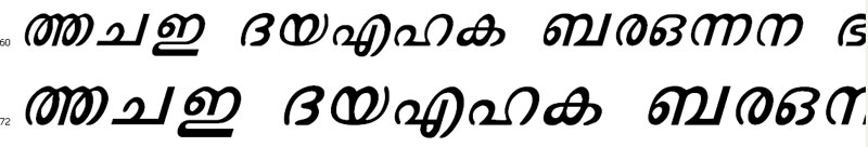 MAL Rooble Italic Bangla Font