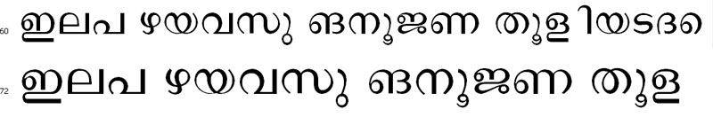 MalayalamAbe Bangla Font