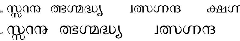 SIBmalayalam Bangla Font