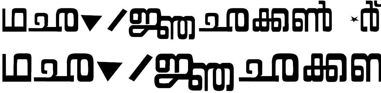 ML_Kaumudi Bangla Font