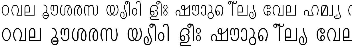 ML_Mmithi Malayalam Font