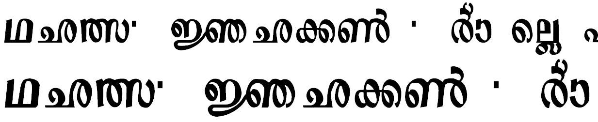 ML_Sre5 Bangla Font