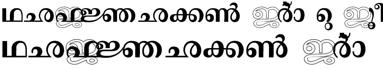 ML_Sree1 Bangla Font