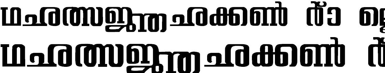 ML_Sree-2 Bangla Font