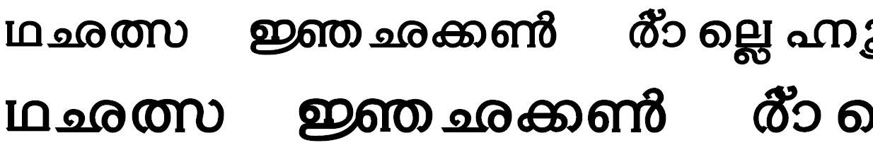 ML_Thoolika Malayalam Font
