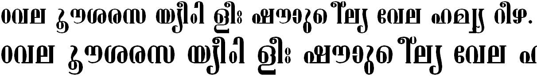 ML_TT_Ashtamudi Normal Bangla Font
