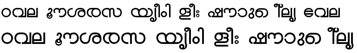 ML_TT_Chandrika Bold Bangla Font