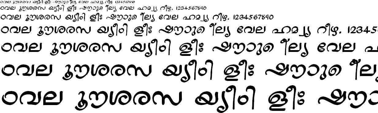 ML_TT_Jaya Bold Malayalam Font