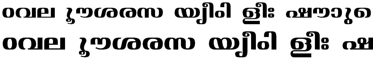 ML_TT_Jyothy Bold Bangla Font