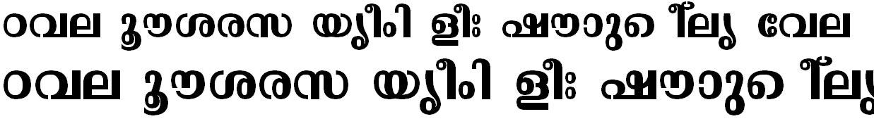 ML_TT_Malavika Bold Bangla Font