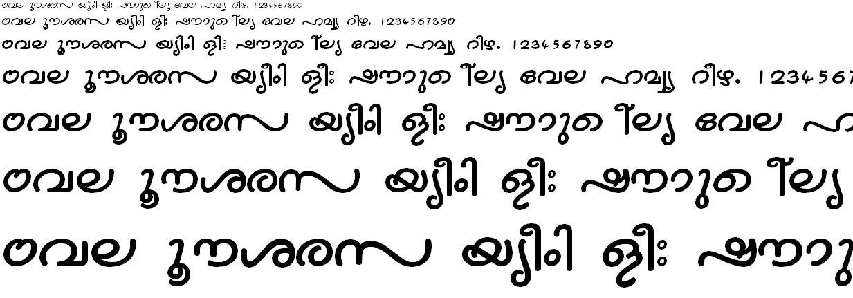 ML_TT_Nandini Bold Malayalam Font