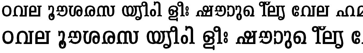 ML_TT_Periyar Bold Bangla Font