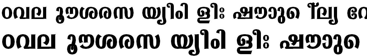 ML_TT_Sabari Bold Bangla Font
