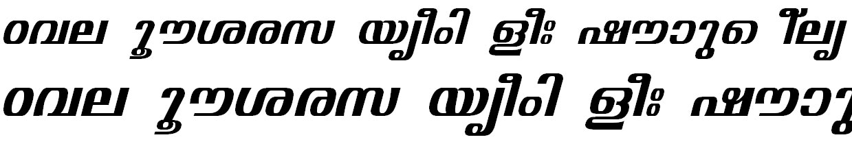 ML_TT_Visakham Bold Italic Bangla Font