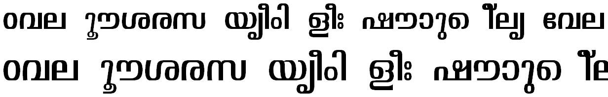ML_TT_Visakham Normal Bangla Font