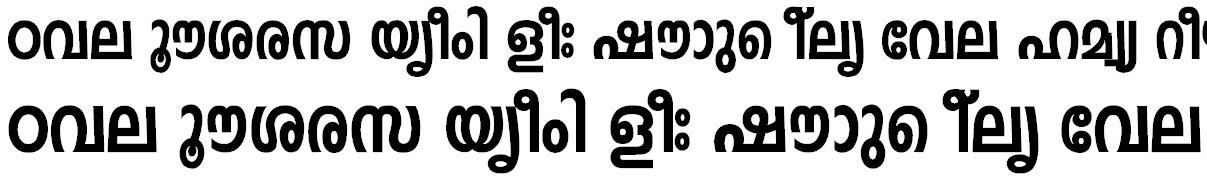 FML-Indulekha Heavy Bold Bangla Font
