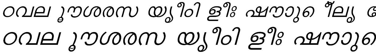 FML-Karthika Italic Bangla Font