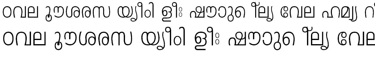 FML-Leela Malayalam Font