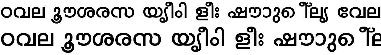 FML-Mohini Bold Malayalam Font