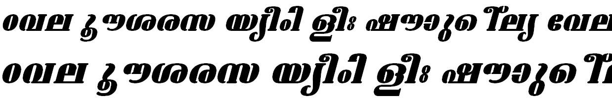 FML-TT-Ashtamudi ExBold Italic Bangla Font