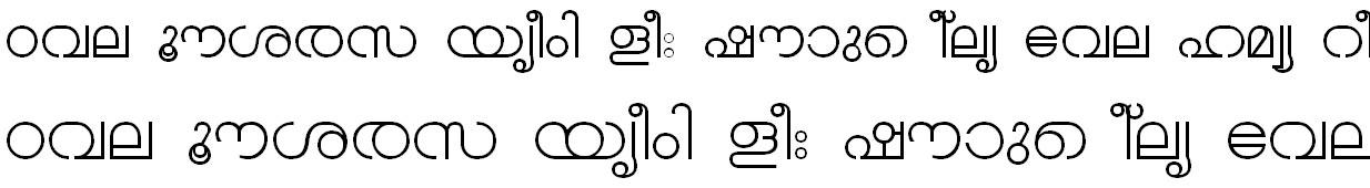 FML-TT-Chandrika Malayalam Font