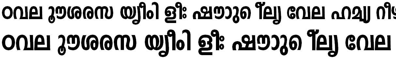 FML-TT-Indulekha Heavy Bold Malayalam Font