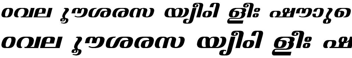 FML-TT-Jyothy Bold Italic Bangla Font