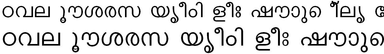 FML-TT-Karthika Malayalam Font