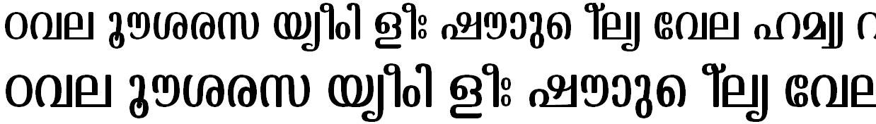 FML-TT-Kaumudi Malayalam Font