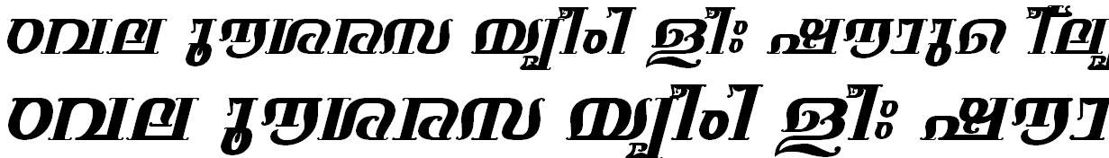 FML-TT-Keerthi Bold Italic Bangla Font