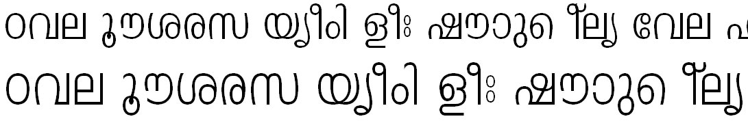 FML-TT-Leela Malayalam Font