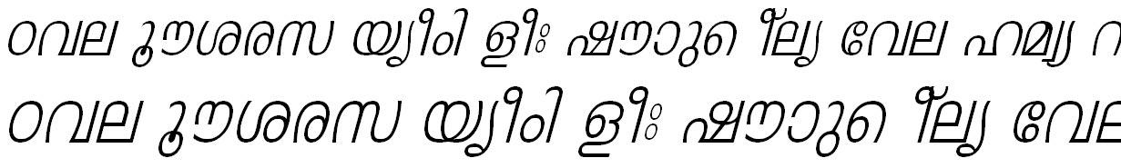 FML-TT-Leela Italic Bangla Font