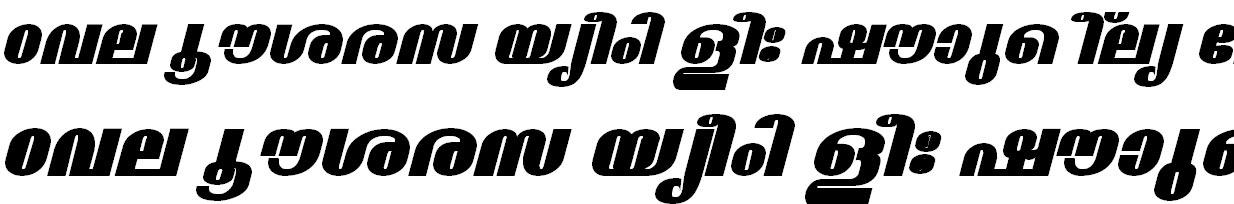 FML-TT-Madhavi ExBold Italic Bangla Font