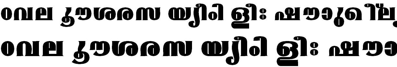 FML-TT-Mangala ExBold Malayalam Font