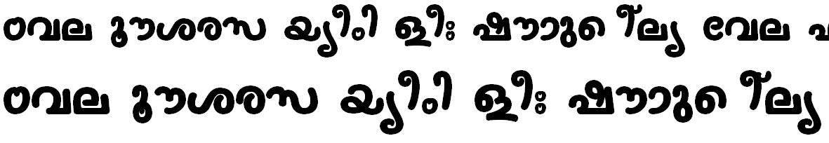 FML-TT-Nanditha Bold Bangla Font