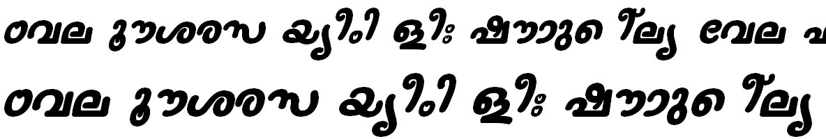 FML-TT-Nanditha Bold Italic Bangla Font