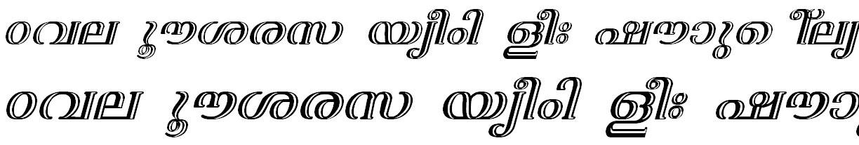 FML-TT-Nila Bold Italic Bangla Font