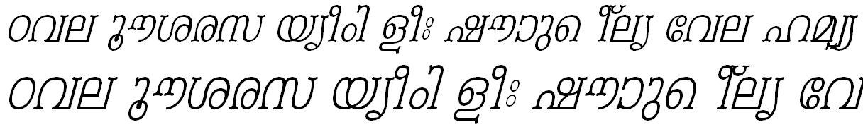 FML-TT-Periyar Italic Bangla Font