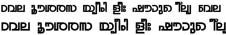 FML-TT-Rohini Bold Bangla Font