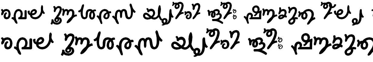 FML-TT-Sruthy Bangla Font