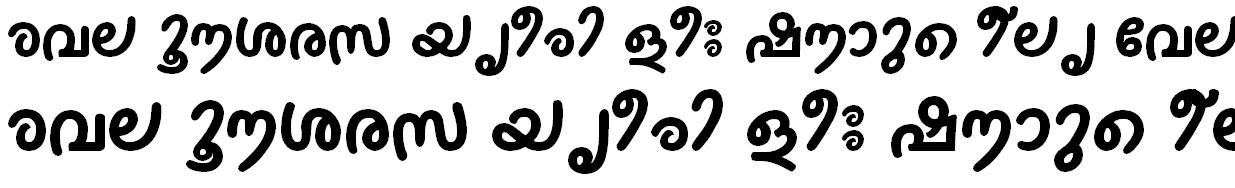 FML-TT-Thakazhi Bold Malayalam Font
