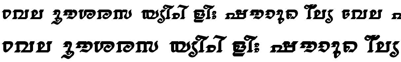FML-TT-Thiruvathira Bold Bangla Font