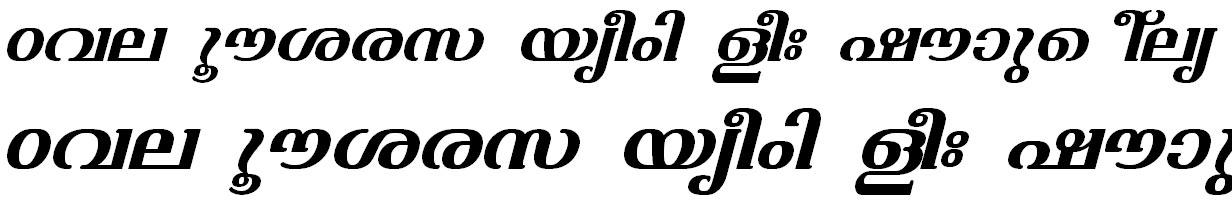 FML-TT-Varsha Bold Italic Bangla Font