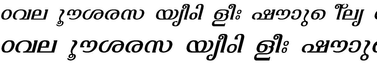 FML-TT-Varsha Italic Bangla Font